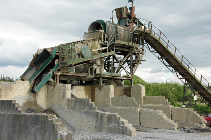 Sand Washing Plant at Brenstone